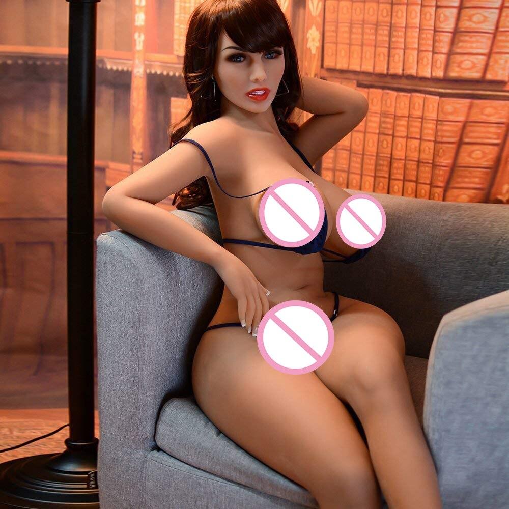 152 cm muñecas sexuales de silicona japonesas Anime pecho grande culo muñeca sexual, cuerpo completo realista adulto amor muñeca Metal esqueleto, Vagina real