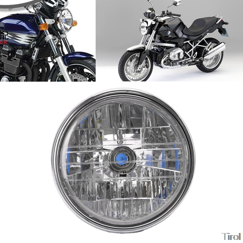 Motorcycle <font><b>Headlight</b></font> Lamp For <font><b>Honda</b></font> CB400 Hornet900 VTEC <font><b>VTR250</b></font> Motorcycle Parts Lighting 35W Car Accessories image