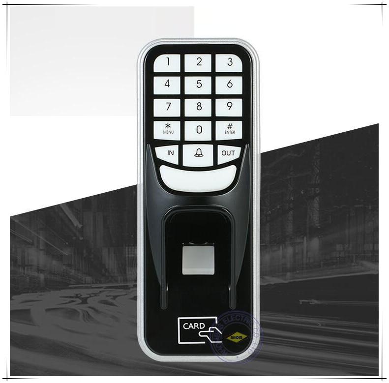 Presenza di impronte digitali Codice PIN RFID ID Card Reader Accesso Autonomo ControllerPresenza di impronte digitali Codice PIN RFID ID Card Reader Accesso Autonomo Controller
