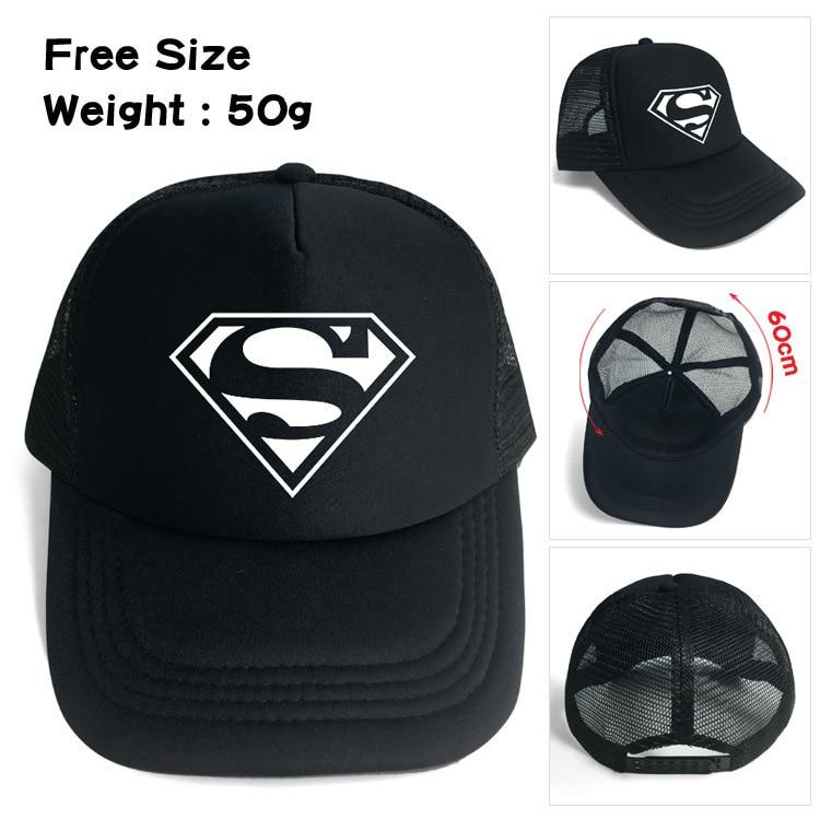 2018 Real Sale Neymar Gorra Gorras Superman Dad Hat Baseball Cap American Anime Cotton Streetwear Printed Snapback Lovers Gift