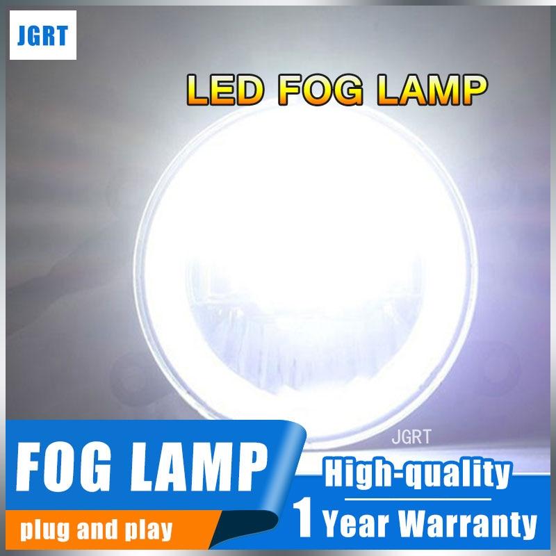 JGRT For Suzuki Swift foglights+LED DRL+turnsignal lights Car Styling LED Daytime Running Lights LED fog lamps