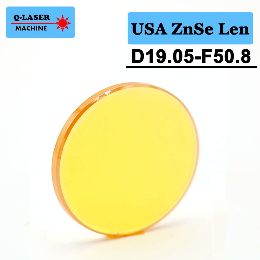 USA Laser Lens 19.05mm Diameter FL50.8mm 2inches For CO2 Laser Engraving And Cutting Machine