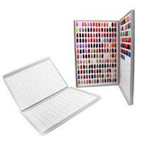 308 nail color card display box nail polish display nail art salon display nail UV glue color A00177XX