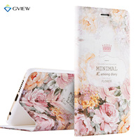 High Quality 3D Relief Print PU Leather Smart Flip Cover Case For Huawei Honor 8 5