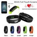 Pulseras inteligentes ID101 HR Pulsómetro Rastreador Podómetro Pulsera Inteligente Bluetooth Banda de Fitness Cinturón de Activación de Impulsos