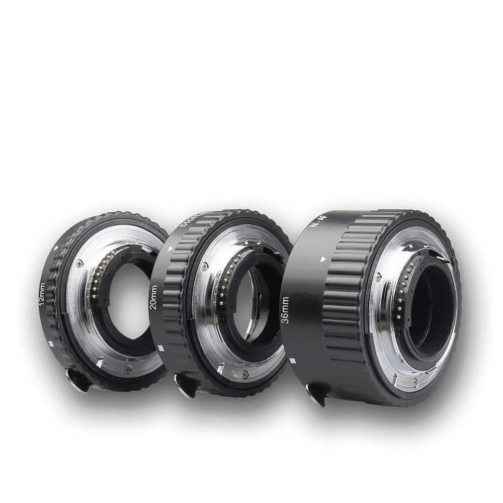 Meike N-AF-A Autofocus D'extension Macro Anneau de Tube pour Nikon D60 D90 D3000 D3100 D3200 D5000 D5100 D5200 D7000 D7100 Caméra DSLR - 3