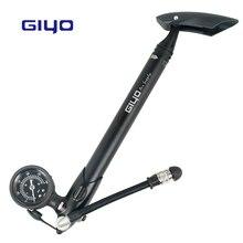 GIYO 300PSI r велосипедный насос телескопический насос для вилок шок шины W/съемный psi/БАР МАНОМЕТР Bleeder складной шланг ручка GS-41
