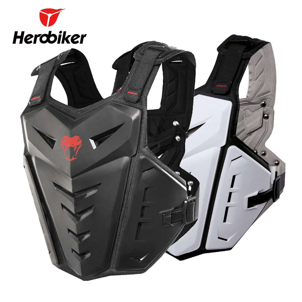 HEROBIKER Motorcycle Armor Protection Motocross Clothing Racing Protective Gear Riding Body Armor Motorcycle Jacket Moto Vest