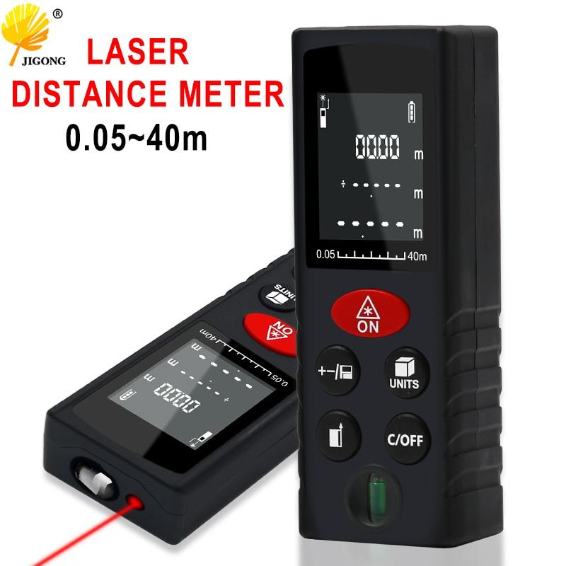 Laser Abstand Meter Messen Abstand Palette 40m Serie Laser Roulette Laser-entfernungsmesser für Jagd Finder herrscher