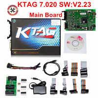 100%ไม่มีสัญญาณ7.020 KTAG K tag V7.020 V2.23ออนไลน์โทKTAG V7.020 K-TAG ECUชิปปรับแต่งสำหรับรถยนต์รถบรรทุกของขวัญECM Winols