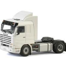 Коллекционная модель из сплава WSI 1:50 Scania 3 серии обтекаемая 4x2 тег ось для трактора, прицепа, грузовика литая игрушка модель украшения, подарок