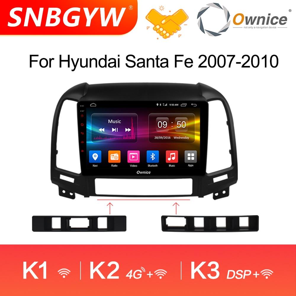 Ownice K1 K2 Octa Core Android 9.0 2 din Car Radio for Hyundai Santa Fe 3 IX25 Creat IX45 auto navigation gps player DH213