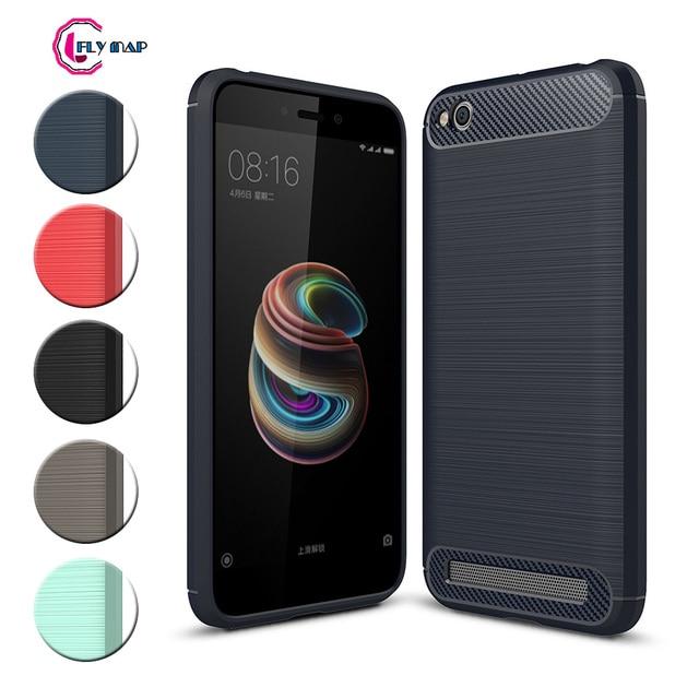 save off e45f6 d6dd5 US $4.49 |TPU Case for Xiaomi Redmi 5A 5 A Redmi5A Soft Silicone Carbon  Fibe Case Mobile Phone Cover for Xiaomi Redmi A5 Red mi 5A Coque-in Fitted  ...