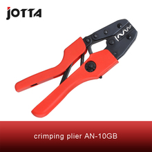 AN-10GB crimping tool plier 2 multi tools hands AN Ratchet Terminal Crimping Plier (European Style)