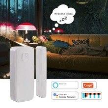 цена Wirless Home Window Door Sensor Burglar Security Alarm System Magnetic Sensor Compatible with Alexa Google Home онлайн в 2017 году