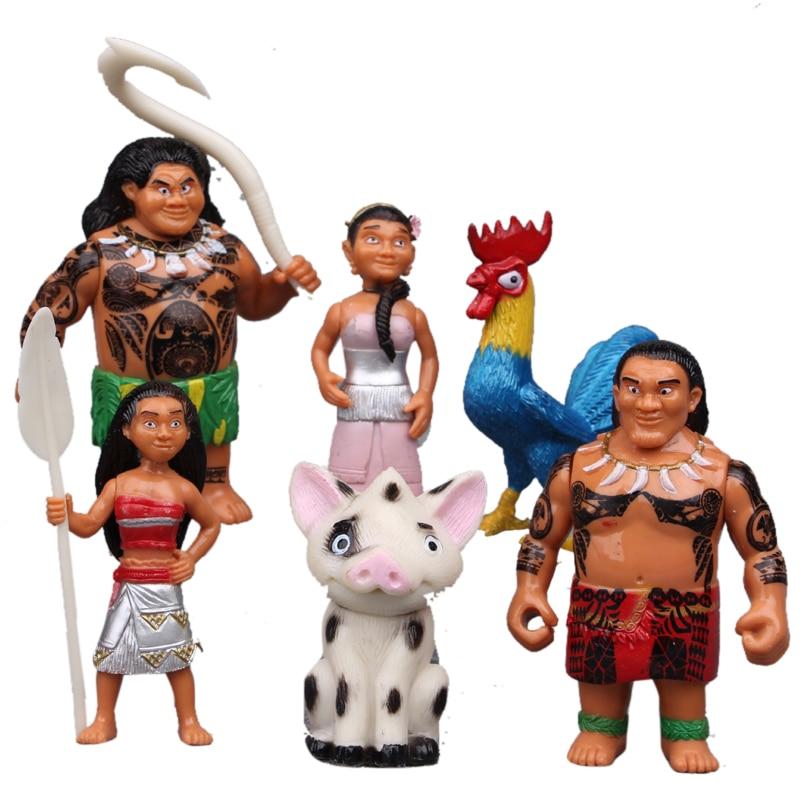 6 STÜCKE Disney Kinder Personalisierte Weihnachtsgeschenke Moana ...