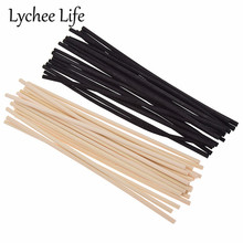 20pcs 4mm Reed Diffuser Replacement Stick DIY Handmade Home Decor Extra Thick Rattan Reed Oil Diffuser Refill Sticks диффузор yankee candle lemon lavender decor reed diffuser объем 170 мл