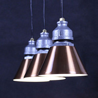 Скандинавский чердак стиль водопровод лампа ретро светодиодный подвесной светильник для столовой винтажное промышленное освещение