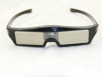 3 sztuk zasilany z baterii litowej DLP Link migawki 3D okulary DLP 3D projektor 3d dlp link migawki okulary 96-144hz dlp link szkło tanie i dobre opinie Brak KX-30 Okulary Tylko Lornetka Pakiet 1 shutter SHARK TEETH Nie-Wciągające 3d active shutter glasses Active shutter 3D glasses