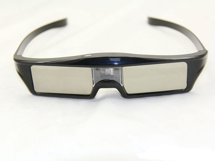 3pcs Lithium Battery Powered DLP Link Shutter 3D Glasses Projector 3d dlp link shutter glasses 96-144hz glass