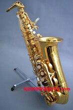 Японский бренд саксофон 62 Eb лак золотой профессиональный супер игровой Саксофон альт музыкальный инструмент мундштук с чехлом Бесплатная доставка