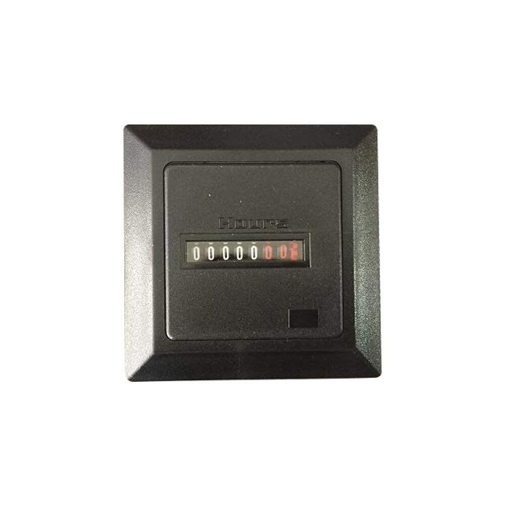 7 کوارتز غیر قابل تنظیم مجدد 220 t 220 ولت مربع بسته شده ساعت ، محدوده زمان 0 our 99.99999 ساعت CE CE متر