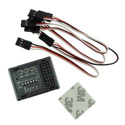 3-axis Flight Controller Stabilizer System Gyro for FPV RC Airplane, Fixed Wing Aircraft, Delta Wing, Gliders