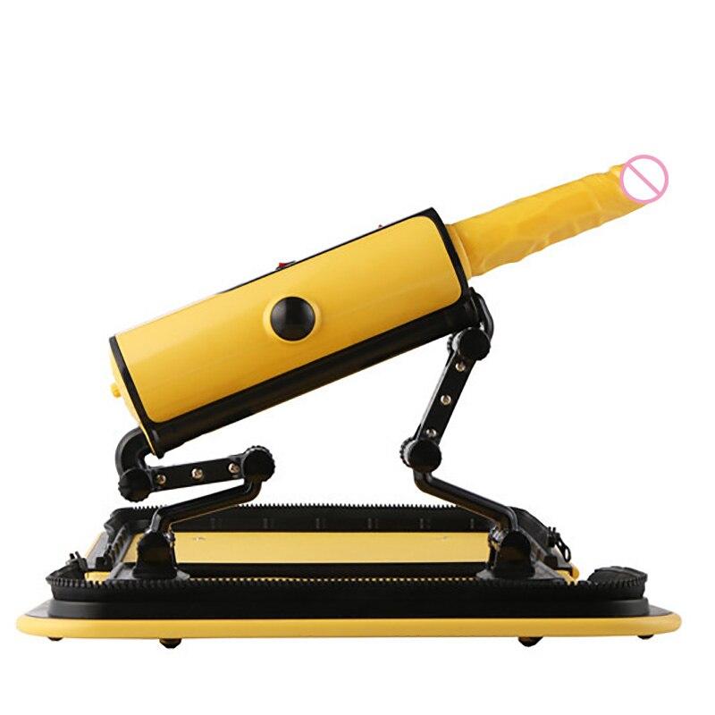 Pistolet de pompage de Masturbation féminine de Machine de sexe automatique de sac à main portatif avec des accessoires de godes jouets automatiques de Machines de sexe Sexy