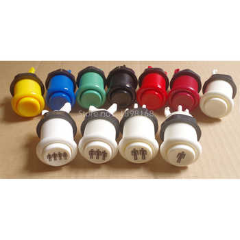 50 pcs Neo geo HAPP style Arcade Push Button American start button Durable Multicade MAME Jamma Game Long Switch Mult-color - DISCOUNT ITEM  5% OFF Sports & Entertainment