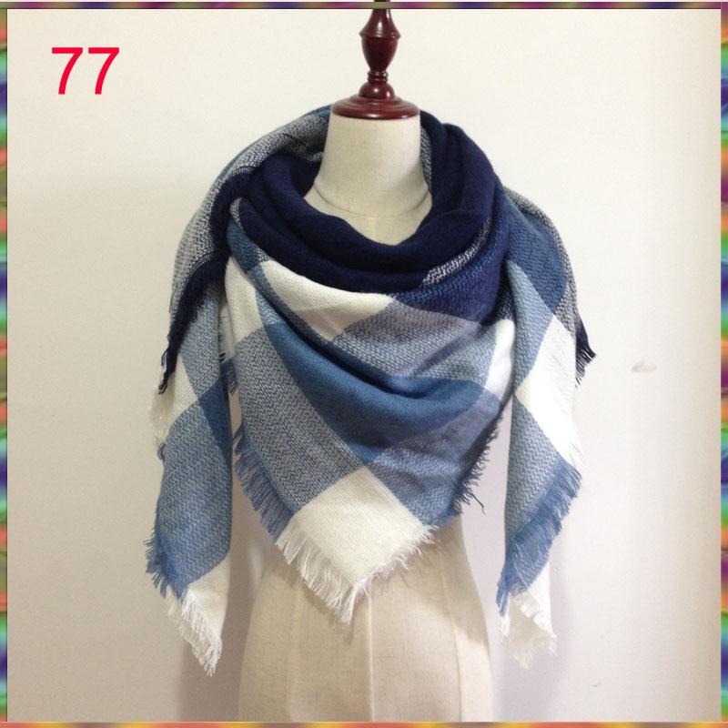 za Winter 2016 Tartan Scarf bufandas Plaid Scarf New Designer Unisex Acrylic Basic Shawls Women's Scarves hot za scarf cuadros