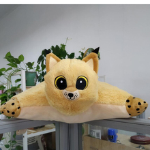 Forest Animal Funny Rysio soft pillow Fox Bear Leopard OWL Plush Doll Gang Slodziakow Stuffed Plush Kid Girls Christmas Toy
