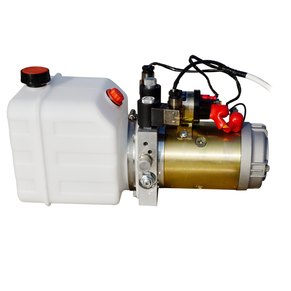 Double Acting Hydraulic Pump 12V Dump Trailer-3 Quart Translucent Reservoir pollutants spread around gweru dump site