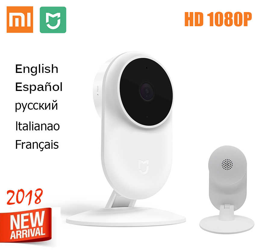2018 New Xiaomi Mijia Smart IP Cam 2MP 1080P P2P 130 Wide Angle IR 10m Web Camera Two-way audio Wifi Mi Home Security Camera