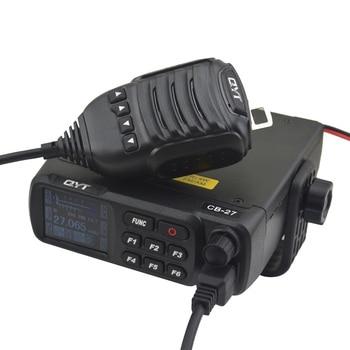 QYT CB-27 CITIZEN BAND ALL European MULTI-NORMS CB Mobile radio Mobile CB Transceiver AM/FM 12/24 4Watts 26.965-27.405MHz