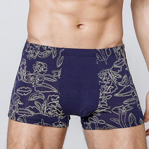 Image 4 - 2020 גדול גודל של גברים בוקסר מכנסיים סקסי Mens כותנה תחתונים XXL ~ 7XL