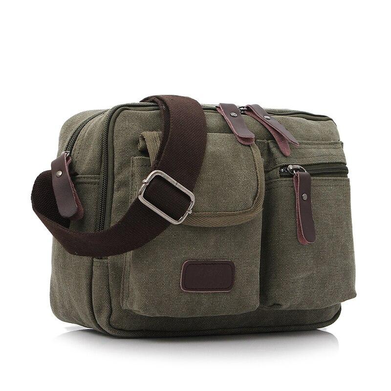 50d7eb34d2b6 High Quality Men Canvas Shoulder Bag Casual Travel Men s Crossbody Bag  Luxury Men Messenger Bags Satchel