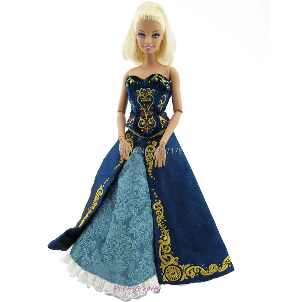 Free Shipping 2015 New Arrived Ultimate Luxury Costumes Princess Dress Outfit For Barbie Doll Girl Gift Hot Sell-in Dolls Accessories from Toys u0026 Hobbies on ...  sc 1 st  AliExpress.com & Free Shipping 2015 New Arrived Ultimate Luxury Costumes Princess ...