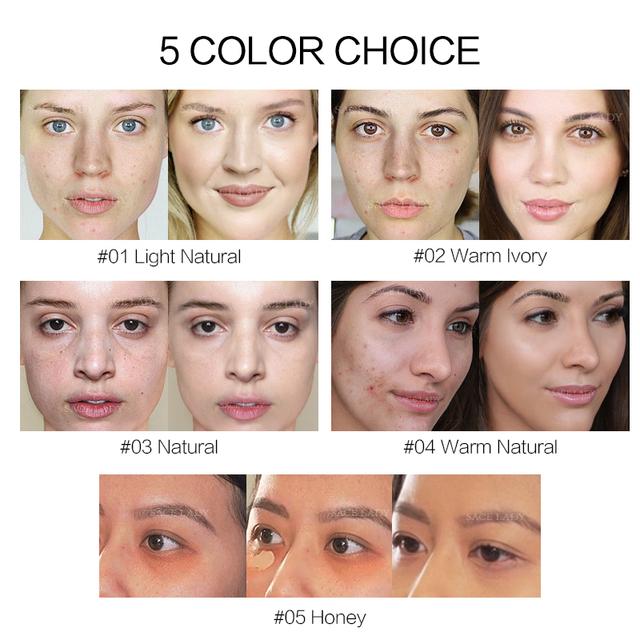 Makeup Face Cream  Waterproof Base Full Cover Concealer Corrector