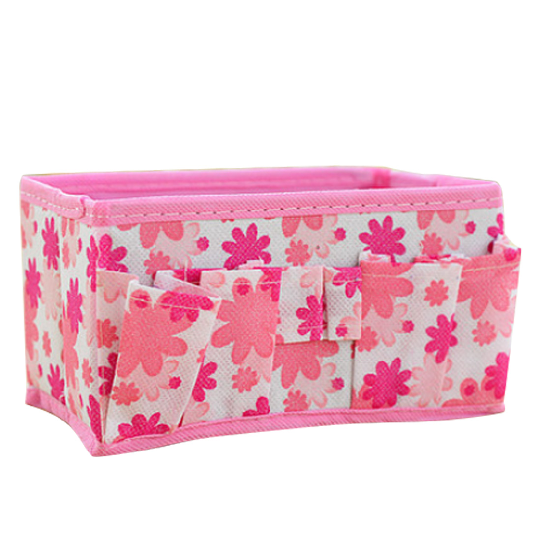 New Green/Blue/Purple/Pink/Orange Multifunction Beauty Flower Folding Makeup Cosmetic Storage Box