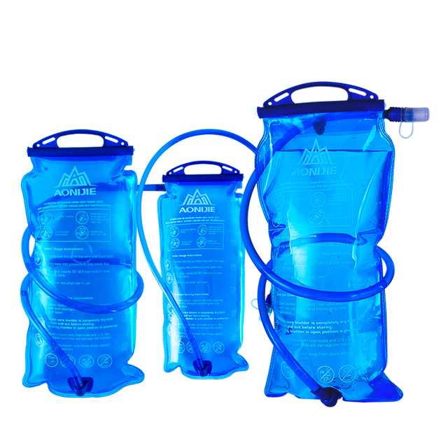 AONIJIE Men Women Water Bag Outdoor Sport Hydration Bladder Riding Running Camping Folding Water Holder 1.5L/2L/3L