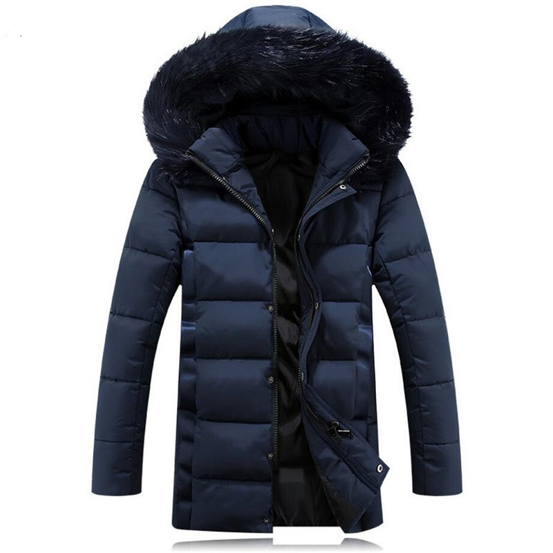 Подробнее о Brand New Jackets Thick Warm Winter Men Cotton Padded Jacket Men's Casual Fur Collar Coat Fashion Overcoat Outwear Plus Size 5XL 2016 new brand winter jacket men thick warm casual fur collar down coat windproof hooded outwear jackets men outwear parkas