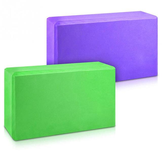 Set of Two EVA Yoga Blocks