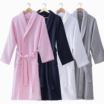 Winter Bathrobe Women Thick Men Warm Towel Kimono Bath Robe Male Bathrobes Femme Dressing Gown Bride Wedding Bridesmaid Robes - DISCOUNT ITEM  31% OFF All Category