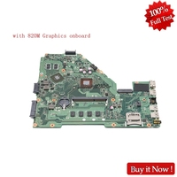 Nokotion 60NB06P0 MB2400 For ASUS X550MD Y582M X550MD X550MJ X552M laptop motherboard With NVIDIA 820M Graphics