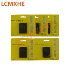 (10pc) תמיכה עבור להתקין משלוח McBoot FMCB כרטיס זיכרון 8MB 16MB 32MB 64MB 128MB עבור PS2 עבור Sony פלייסטיישן 2