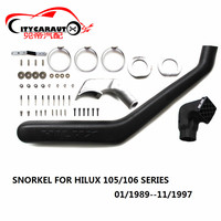CITYCARAUTO HILUX LLDPE EXTERIOR AUTO PARTS AIR INTAKE PARTS AIR FRESH SNOKEL FIT FOR TOYTA HILUX 105 106 SERIES 1989 1997