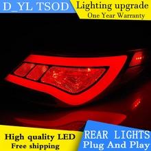 Автомобильный Стайлинг светодиодный задний фонарь для hyundai Accent задние фонари Solaris Verna задний фонарь DRL+ сигнал поворота+ тормоз+ Обратный Авто аксессуары