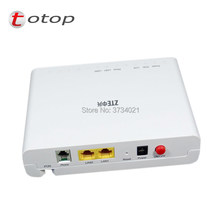 ZTE F612 GPON ONU(ONT) Router Support FTTH HGU 1GE+1FE+1TEL Same function as F601 F603 F401 F643 F612 2018(China)