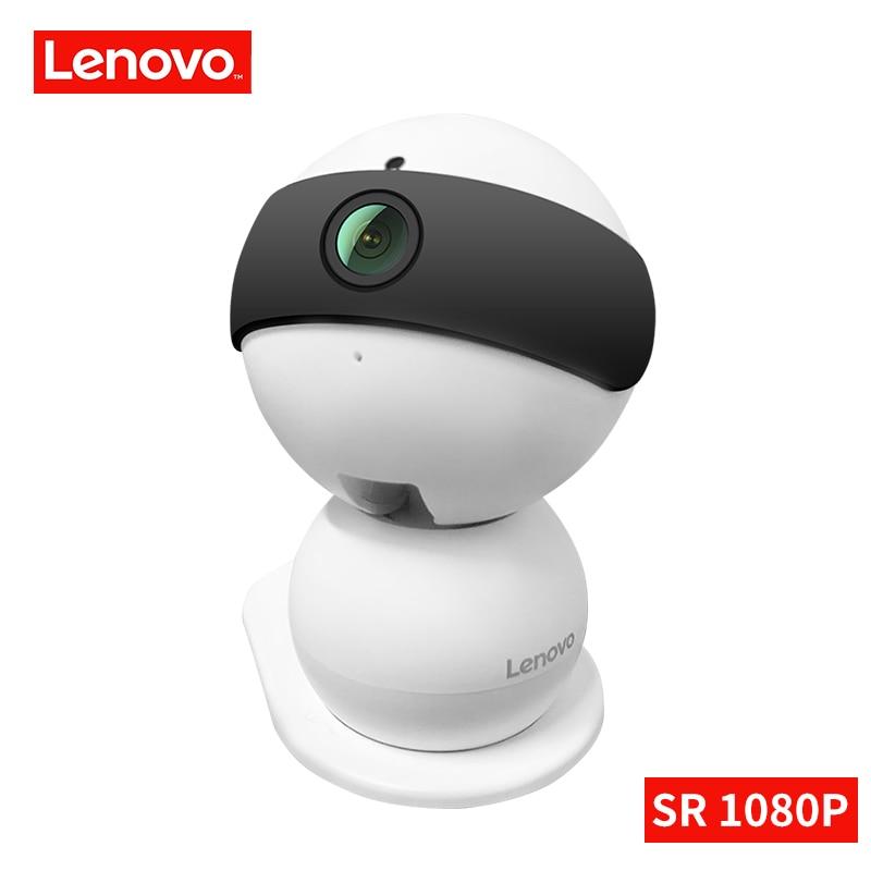 Lenovo boneco SR IP Wi-fi Sem Fio da câmera Mini câmera de segurança 1080 p HD Monitor Do Bebê visão noturna & PTZ vigilância câmera