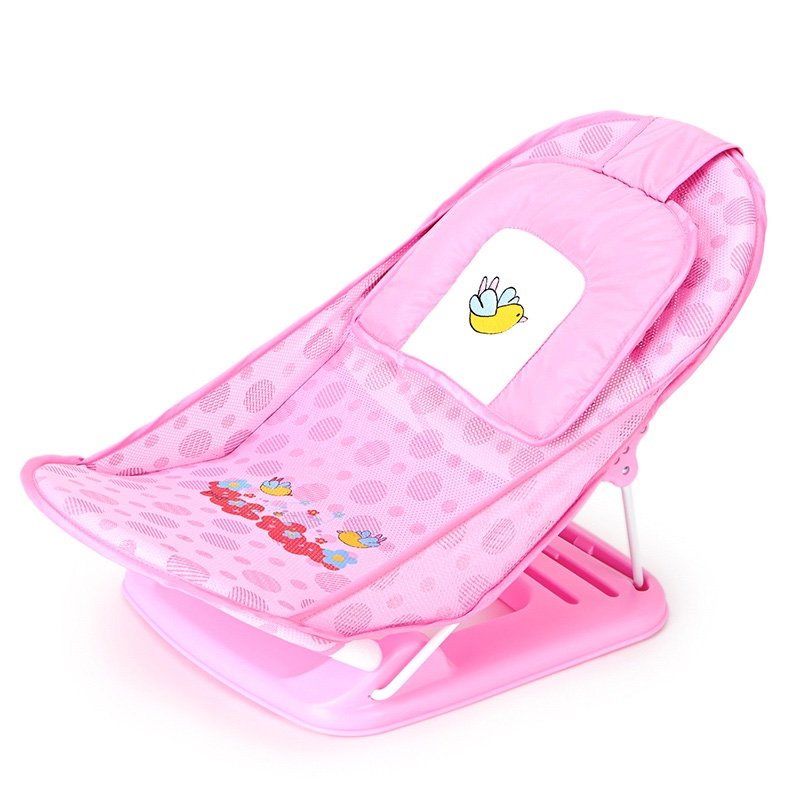AIWIBI bébé de bain racks pliable nourrissons bains et jeunes enfants bathbed maille baignoire non-slip